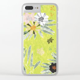 Neo Rainforest-Daybreak Clear iPhone Case