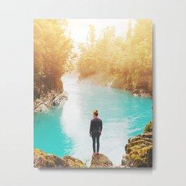 Visit New Zealand Metal Print