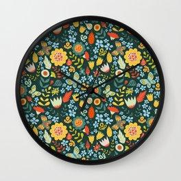 pattern 8009 Wall Clock