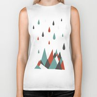 vancouver Biker Tanks featuring North Vancouver by Daina Lightfoot