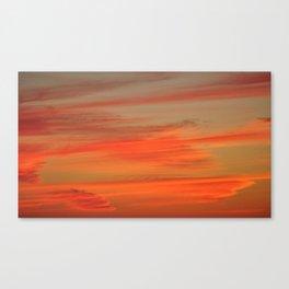 Hot-Headed Canvas Print