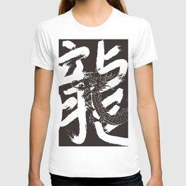 Calligraphy_Dragon Dragon_02 T-shirt