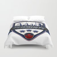 gaming Duvet Covers featuring Toronto Gaming by rramrattan