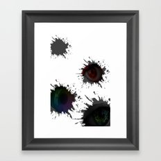 SEEING_EYES Framed Art Print