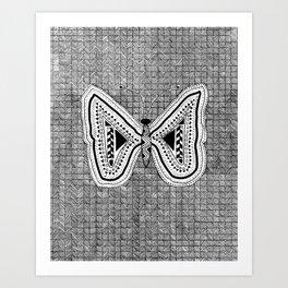 Hopeful Butterfly Art Print