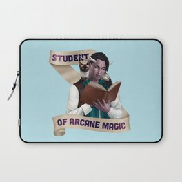 Wizard: Student of Arcane Magic Laptop Sleeve