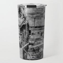 Thames Sailing Barges Vintage Travel Mug