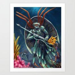 Triopoid Art Print