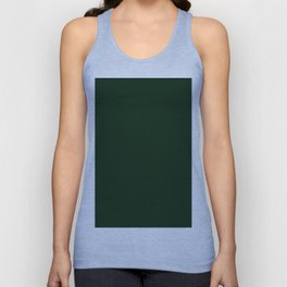Simply Pine Green Unisex Tank Top