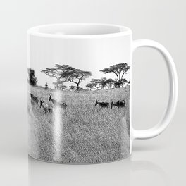 Impala in the grass Coffee Mug