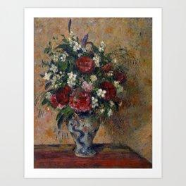 "Camille Pissarro ""Still life with peonies and mock orange"" Art Print"