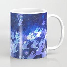 H.E.L.L.O. / blue Coffee Mug