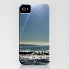 Sun over the waves. iPhone (4, 4s) Slim Case
