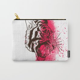 Cute Pink tiger  Carry-All Pouch