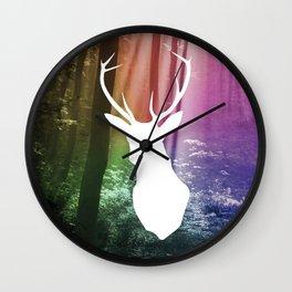 Woods watcher Wall Clock