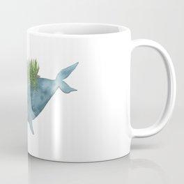 Christmas whale Coffee Mug