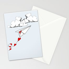 Sending you love Stationery Cards