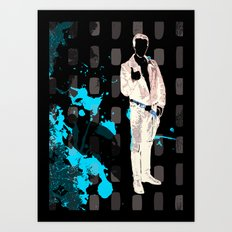 Fonz Solo Art Print