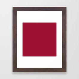 Jester Red 9E1030 Framed Art Print