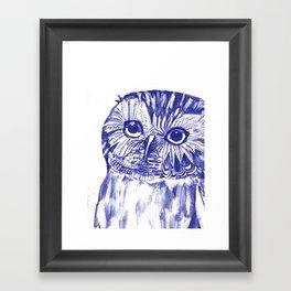 Another Owl Framed Art Print