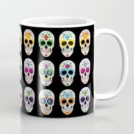 Nine skulls Coffee Mug