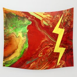 Psychedelic Rock Wall Tapestry