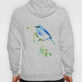 Mountain Bluebird homde decor Hoody