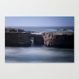 Keyhole Rock Arches Point Arena California Canvas Print