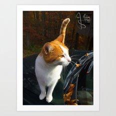Fall Familiar Art Print