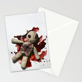 Bloody sack doll Stationery Cards