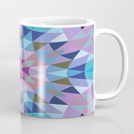 Lavender Retro Geometry Coffee Mug