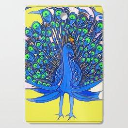 Peacock Art Jen Cutting Board