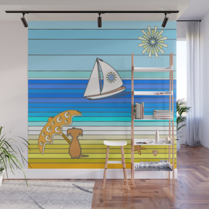 Summertime And The Living Is Easy Wall Mural