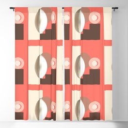 Ab ovo living coral Blackout Curtain