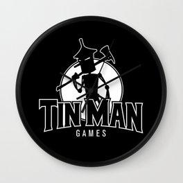 Tin Man Games logo Wall Clock