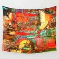 cuba Wall Tapestries featuring Cuba Libre by Fernando Vieira
