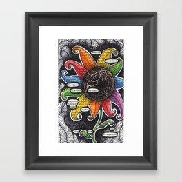 Twenty. Framed Art Print