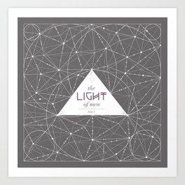 The Light of Men Art Print