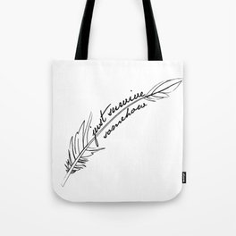 JSS feather Tote Bag