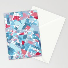 Shattered Floral Stationery Cards