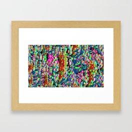 Glitch Digital Experimentalism Framed Art Print