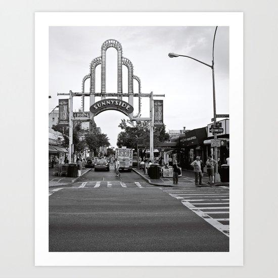 Sunnyside Arch Art Print