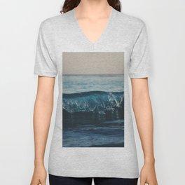 the wave ... Unisex V-Neck