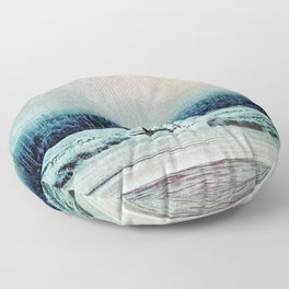 The Last Winter Floor Pillow
