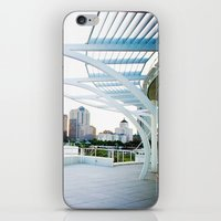milwaukee iPhone & iPod Skins featuring Milwaukee by Andrea Coan