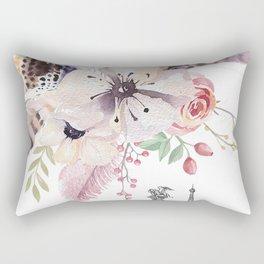 Flowers bouquet #30 Rectangular Pillow