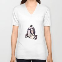 alex vause V-neck T-shirts featuring Alex Vause by chiams