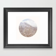 On My Way Home Framed Art Print