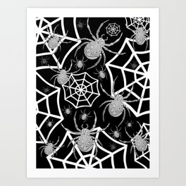 Spiders Art Print