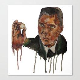 Christopher Walken as Captain Koons Canvas Print